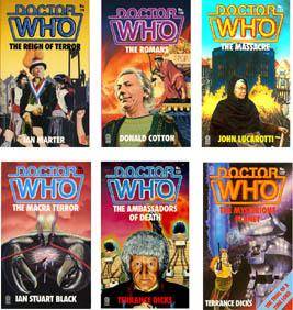 Doctor Who Book Cover Art