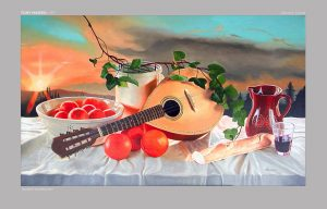 Art - Mandolin Sunset
