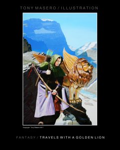 Fantasy - Travels with a Golden Lion