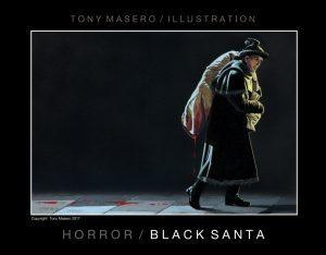 Horror - Black Santa